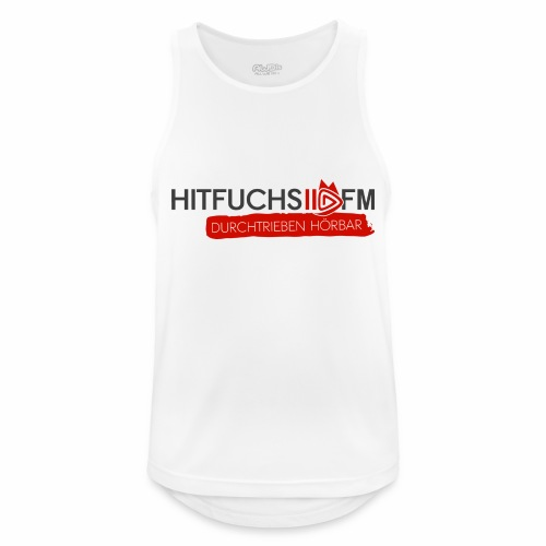 HitFuchs logo + slogan - Men's Breathable Tank Top
