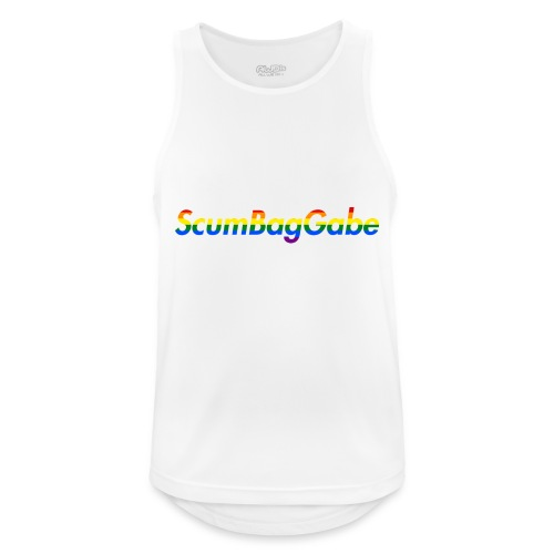 ScumBagGabe Multi Logo XL - Men's Breathable Tank Top