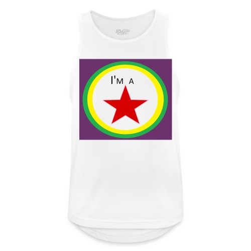 I'm a STAR! - Men's Breathable Tank Top