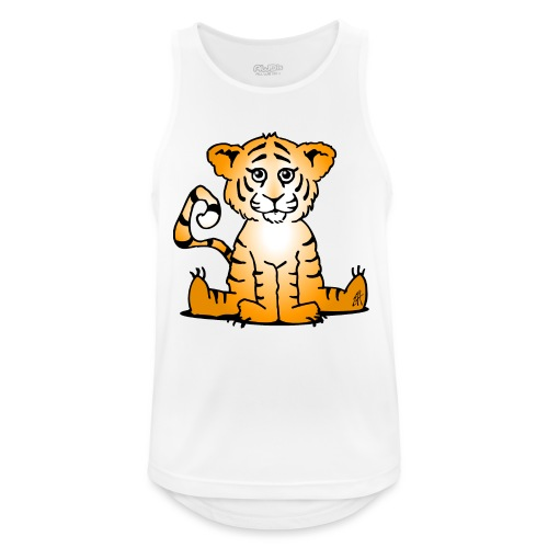 Tiger cub - Men's Breathable Tank Top