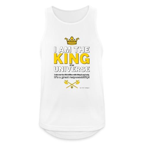 Royal King T-shirt - PAN designs - Tees & Gifts - Andningsaktiv tanktopp herr