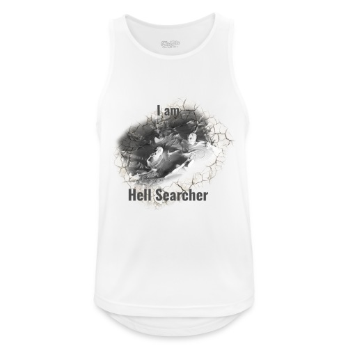 I am Hell Searcher, T-Shirt Women - Men's Breathable Tank Top