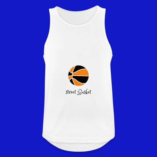 street basket - Camiseta sin mangas hombre transpirable