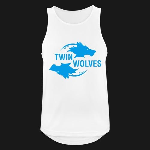 Twin Wolves Studio - Canotta da uomo traspirante