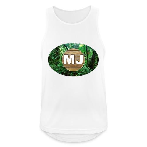 MrJuls Logo - Männer Tank Top atmungsaktiv