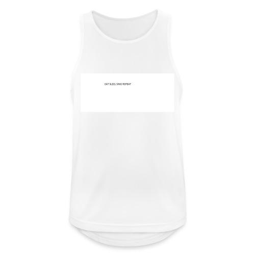 eat sleep sing - Men's Breathable Tank Top