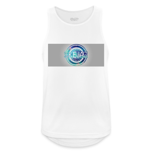 LOGO WITH BACKGROUND - Men's Breathable Tank Top
