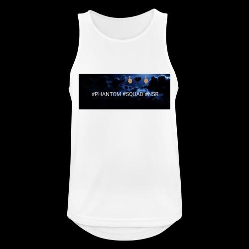 #PHANTOM #SQUAD #NSR Shirt - Männer Tank Top atmungsaktiv