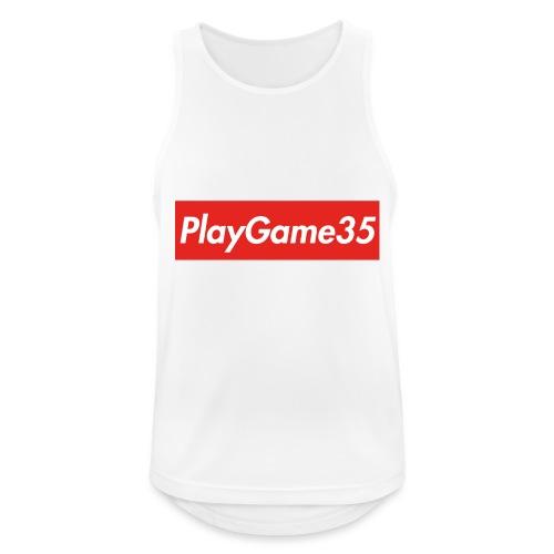 PlayGame35 - Canotta da uomo traspirante