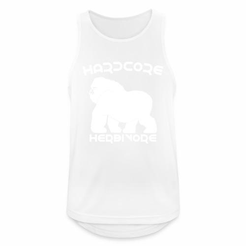 Herbivore Shirt Vegan Vegetarier T-Shirt - Männer Tank Top atmungsaktiv