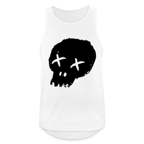 blackskulllogo png - Men's Breathable Tank Top