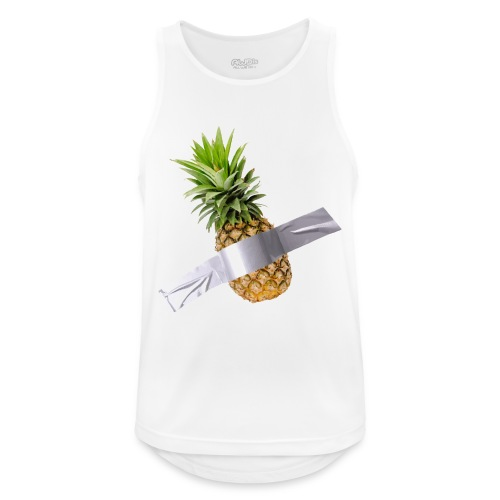 Pineapple Art - Canotta da uomo traspirante