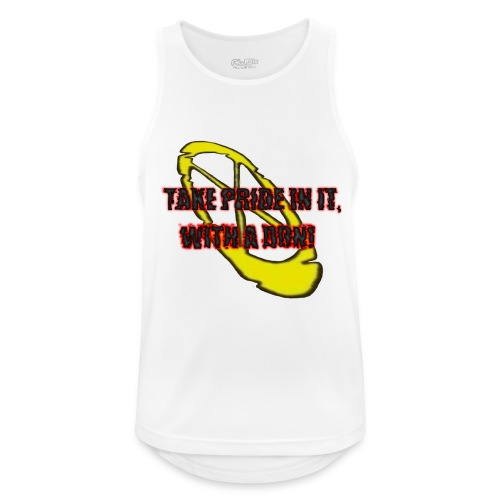 TAKE PRIDE IN IT, WITH A DON! - Männer Tank Top atmungsaktiv