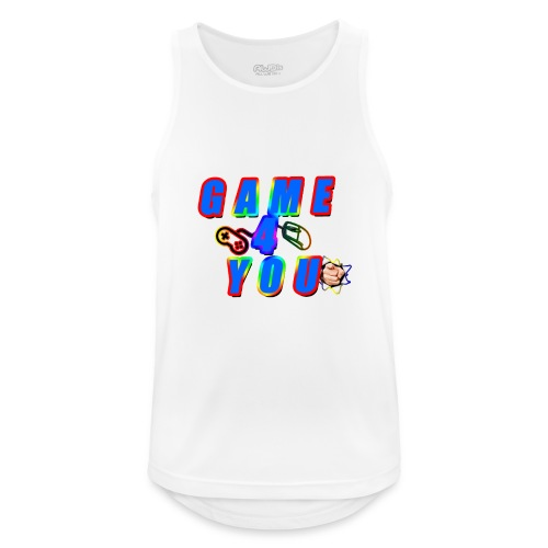 Game4You - Men's Breathable Tank Top