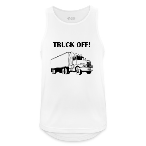 Truck off! - Men's Breathable Tank Top