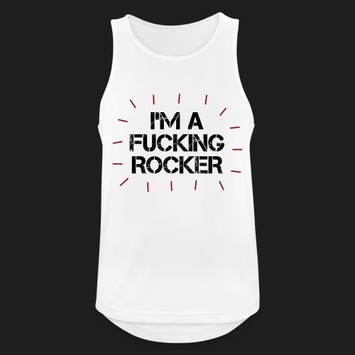 I'M A FUCKING ROCKER - Canotta da uomo traspirante