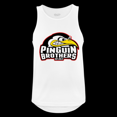 Pinguin bracia Clan - Tank top męski oddychający