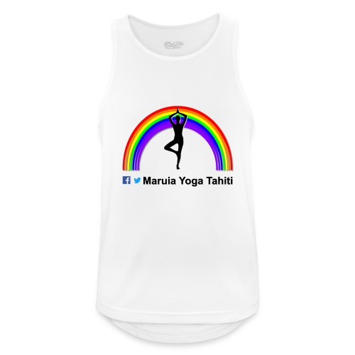 Logo de Maruia Yoga Tahiti - Débardeur respirant Homme