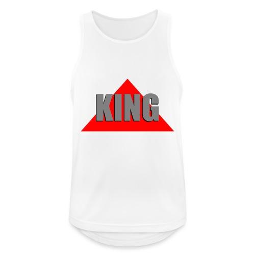 King, by SBDesigns - Débardeur respirant Homme