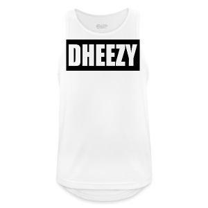 DHEEZY_logo_1 - Men's Breathable Tank Top