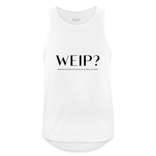 what else is possible - black - Mannen tanktop ademend