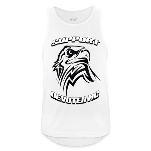 SUPPORT DEVOTEDMC E - Pustende singlet for menn