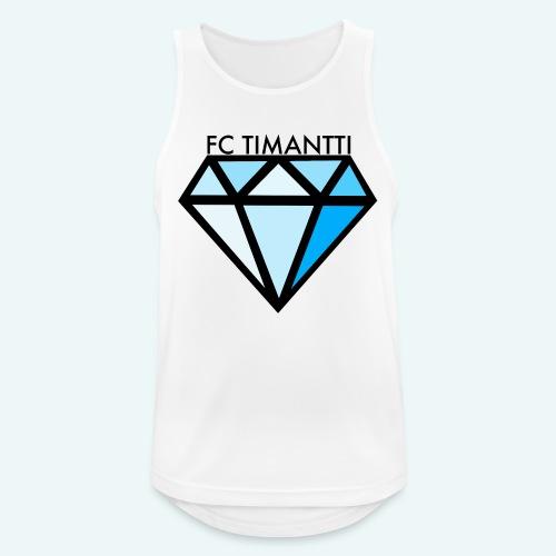 FC Timantti mustateksti - Miesten tekninen tankkitoppi