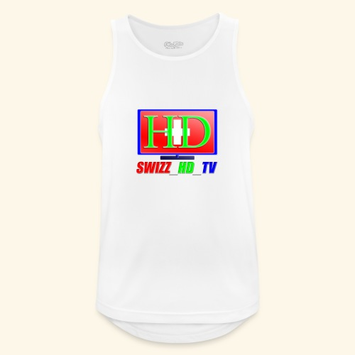 SWIZZ HD TV - Männer Tank Top atmungsaktiv