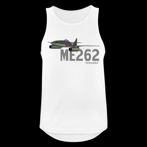 Me 262 Schwalbe (writing) - Canotta da uomo traspirante