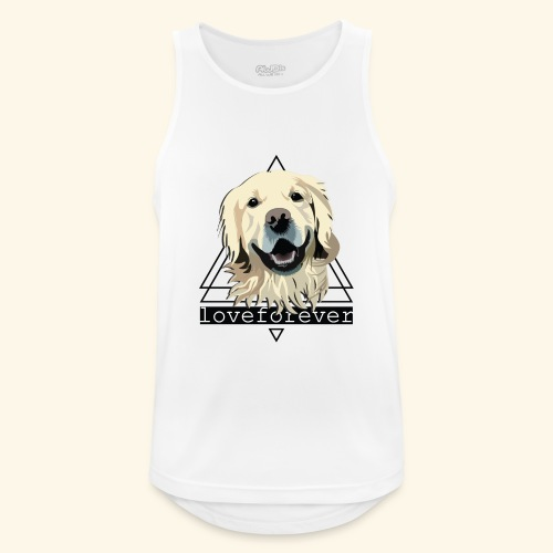 RETRIEVER LOVE FOREVER - Camiseta sin mangas hombre transpirable