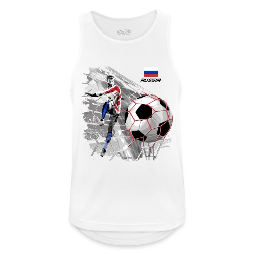 GP22F-04 RUSSIAN FOOTBALL TEXTILES AND GIFTS - Miesten tekninen tankkitoppi