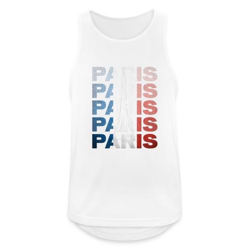 Paris, France - Men's Breathable Tank Top