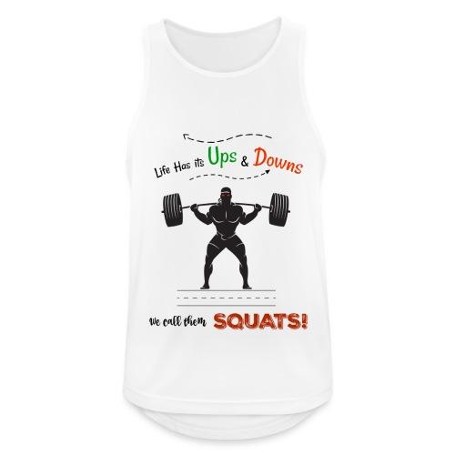 Do You Even Squat? - Men's Breathable Tank Top