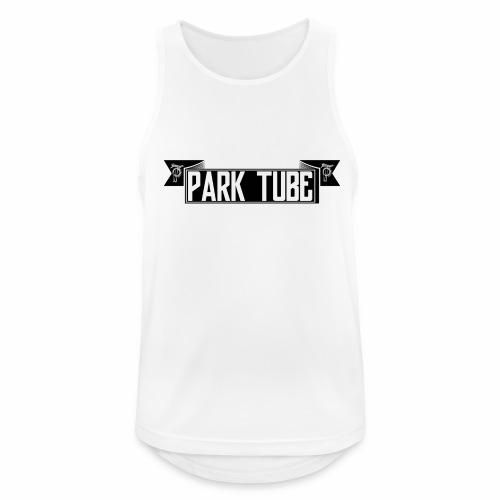 ParkTube Banner schwarz - Männer Tank Top atmungsaktiv