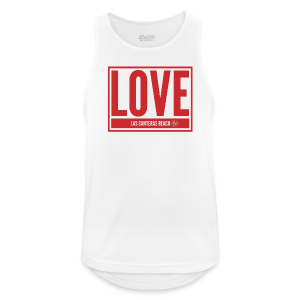Love Las Canteras - Camiseta sin mangas hombre transpirable