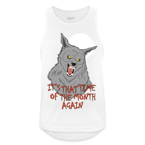 That Time of the Month - Men's Breathable Tank Top