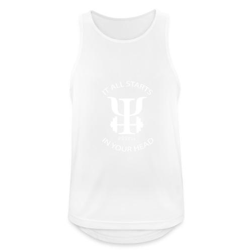 PSYfit Logo Tee - Men's Breathable Tank Top