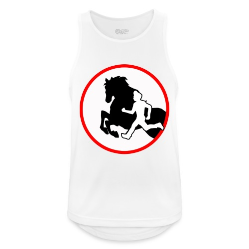 Horse Agility Logo - Männer Tank Top atmungsaktiv