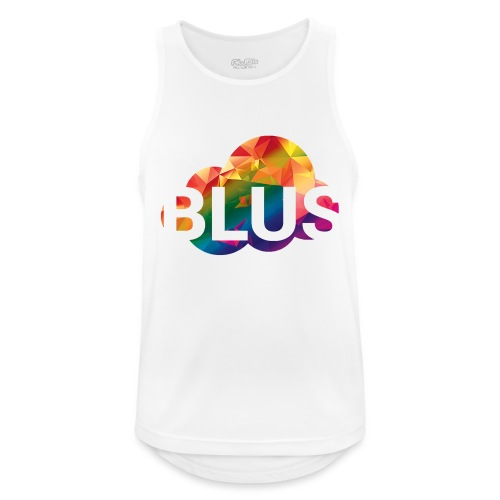 BURNER Logo - Men's Breathable Tank Top