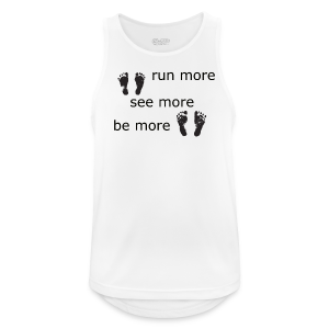 Run Collection - Pustende singlet for menn