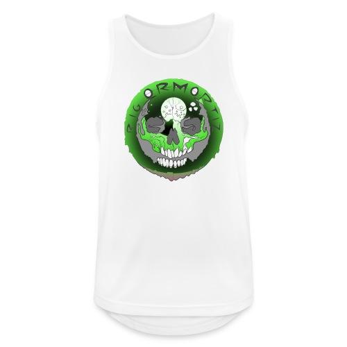 Rigormortiz Metallic Green Design - Men's Breathable Tank Top