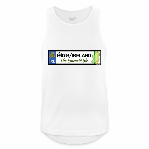 EIRE IRELAND IRL, The Emerald Isle, licence tag EU - Men's Breathable Tank Top