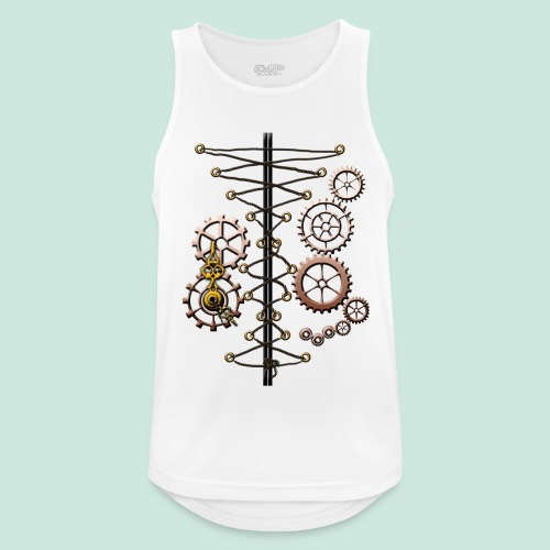 corset and cogs - Men's Breathable Tank Top