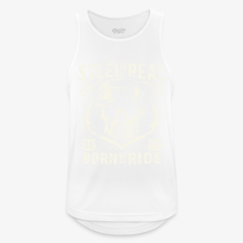 Have No Fear Is Real Born To Ride est 68 - Men's Breathable Tank Top