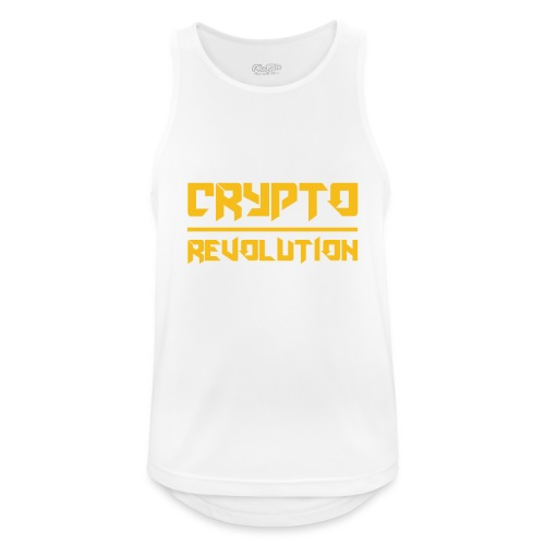 Crypto Revolution III - Men's Breathable Tank Top