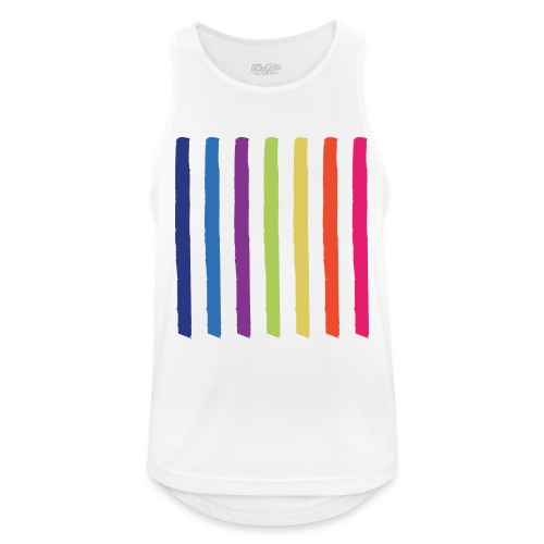 Lines - Men's Breathable Tank Top
