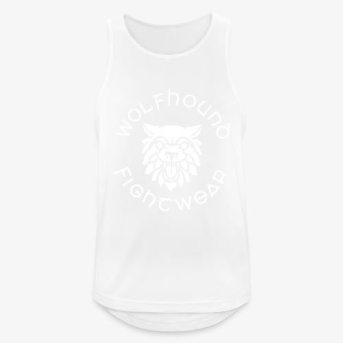 logo round w - Men's Breathable Tank Top