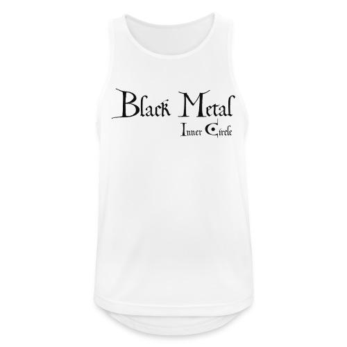 black metal Inner Circle, black ink - Men's Breathable Tank Top