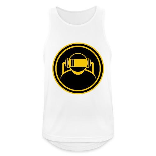 Mens Slim Fit T Shirt. - Men's Breathable Tank Top