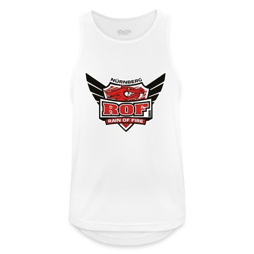 ROF Logo - Männer Tank Top atmungsaktiv